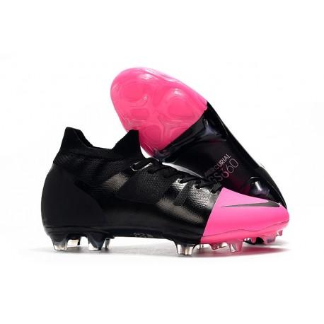 Nike Mercurial Greenspeed 360 FG Soccer Shoes - Black Pink