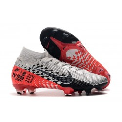 Nike Mercurial Superfly 7 Elite FG Neymar Chrome/Black/Red Orbit/Platinum Tint