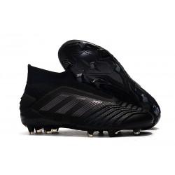 New adidas Predator 19+ FG Soccer Boots - Full Black