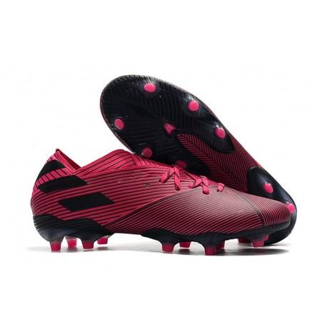 adidas Nemeziz 19.1 FG News Soccer Boots - Shock Pink Black