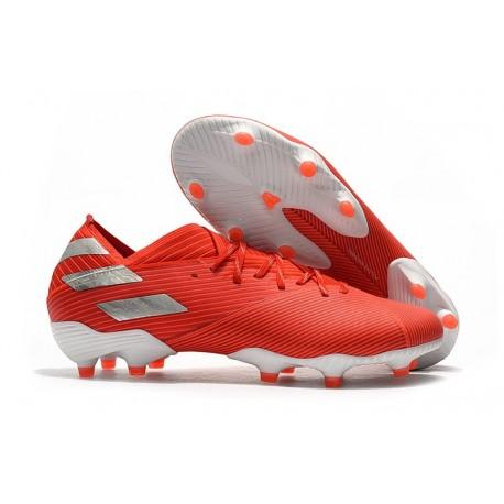 adidas Nemeziz 19.1 FG News Soccer Boots - Active Red Silver