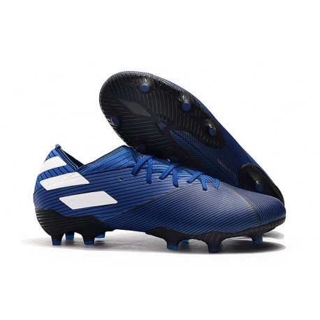 adidas Nemeziz 19.1 FG News Soccer Boots - Blue White