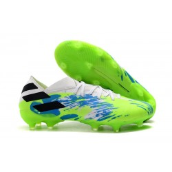 adidas Nemeziz 19.1 FG News Soccer Boots - White Multicolor