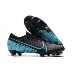 Nike Mercurial Vapor 13 Elite FG New Shoes - Black Blue