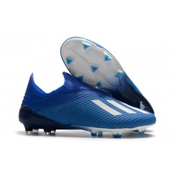 New adidas X 19+ FG Firm Ground Shoes Blue White