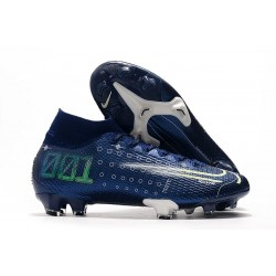 Nike Dream Speed Mercurial Superfly 7 Elite FG Blue Void White Volt