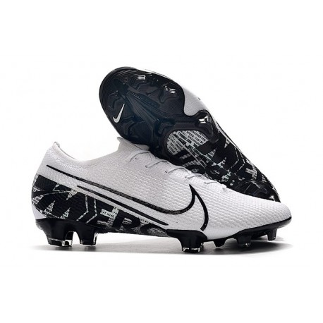Nike Mercurial Vapor XIII Elite FG Firm Ground Cleats White Black