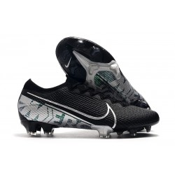 Nike Mercurial Vapor XIII Elite FG Firm Ground Cleats Black Silver