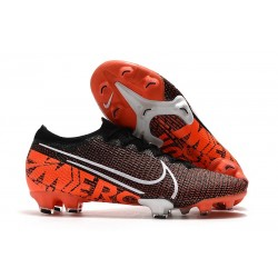 Nike Mercurial Vapor XIII Elite FG Limited Edition Black White Crimson