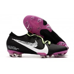 Nike Mercurial Vapor XIII Elite FG Cleats Black Purple Silver White