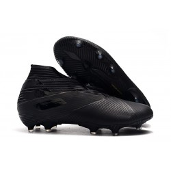 adidas Nemeziz 19+ FG Soccer Cleat Full Black