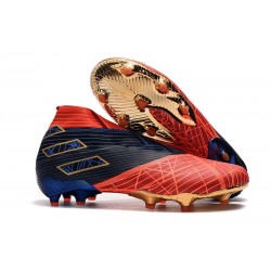 adidas Nemeziz 19+ FG Soccer Cleat Spider-Man Red Black