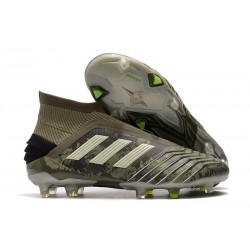 adidas Predator 19+ FG Firm Ground Shoes Legacy Green Sand