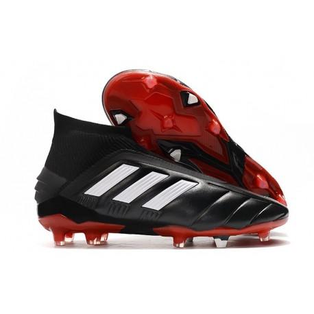 adidas Predator Mania 19+FG ADV Black White Red