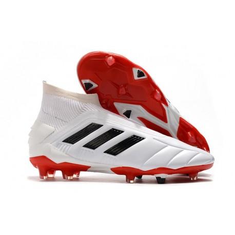 adidas Predator 19+ FG Firm Ground Shoes Core White