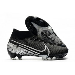 Nike Mercurial Superfly VII Elite SE FG - Black Metallic Cool Grey