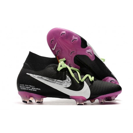 Nike Mercurial Superfly VII Elite SE FG - Black Purple White