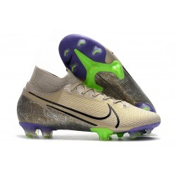 Nike Mercurial Superfly 7 Elite FG Mens Cleats - Desert Sand