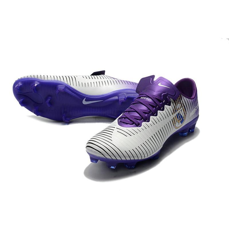294ce2e561a5 Nike Mercurial Vapor XI FG Men Football Shoes - Purple White