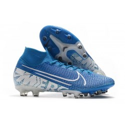 Nike Mercurial Superfly VII Elite AG-Pro New Lights Blue White