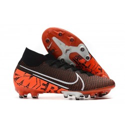 Nike Mercurial Superfly VII Elite AG-Pro Black Orange White
