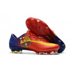 Nike Mercurial Vapor XI FG Men Football Shoes - Barcelona Red