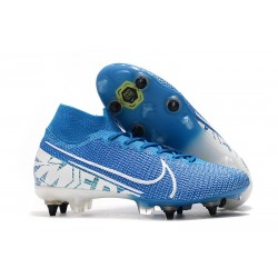 Nike Mercurial Superfly 7 Elite SG-Pro New Lights Blue White