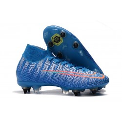 Nike Mercurial Superfly 7 Elite SG-Pro Blue Red