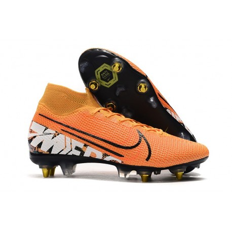 Nike Mercurial Superfly 7 Elite SG-Pro Orange White