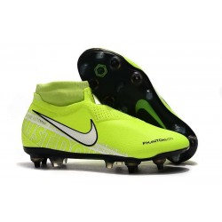 Nike Phantom Vision Elite DF SG-PRO Anti-Clog Volt White