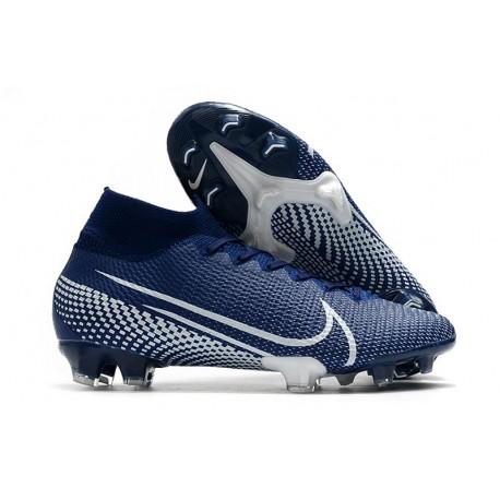 Nike Mercurial Superfly VII Elite SE FG -Blue White