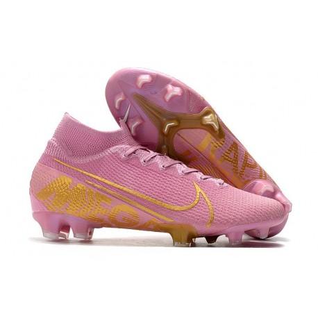 Nike Mercurial Superfly VII Elite SE FG - Pink Gold