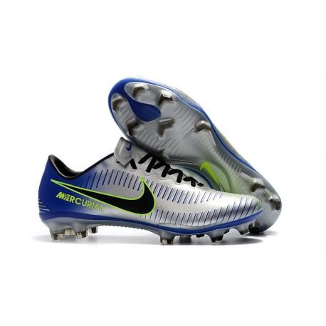 code promo 06046 214ae Nike Mercurial Vapor XI FG Men Football Shoes - Silver Blue
