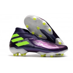 New adidas Nemeziz 19+ FG Shoes -Purple Green