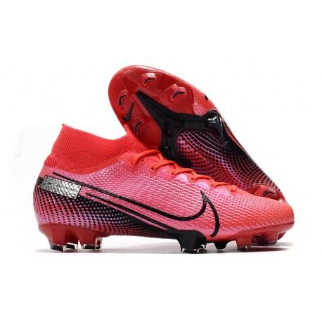 Nike Mercurial Superfly VII Elite SE FG - Laser Crimson Black