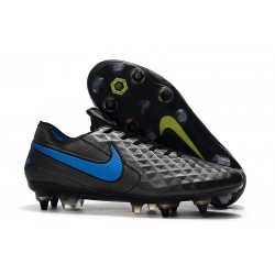 Nike Tiempo Legend 8 Elite SG-Pro Kangaroo Black Blue