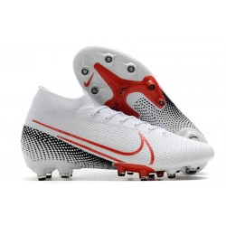 Nike Mercurial Superfly VII Elite AG-Pro White Red Black