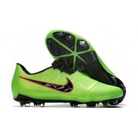 Nike Phantom VNM Elite FG Cleat -Green Strike Black