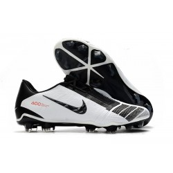 Nike Phantom VNM Elite FG Cleat - White Black Red