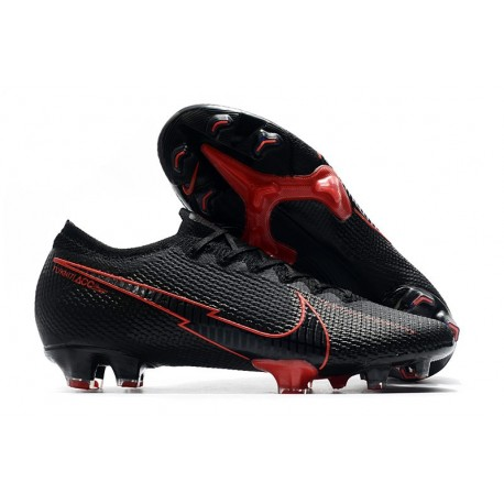 Nike Mercurial Vapor 13 Elite FG Boots Black Red