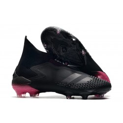 adidas Predator Mutator 20+ FG Soccer Cleat - Core Black Shock Pink