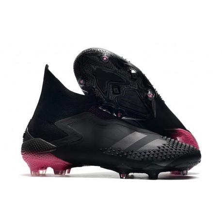 adidas Predator Mutator 20+ FG Soccer Cleat - Core Black Shock Pink