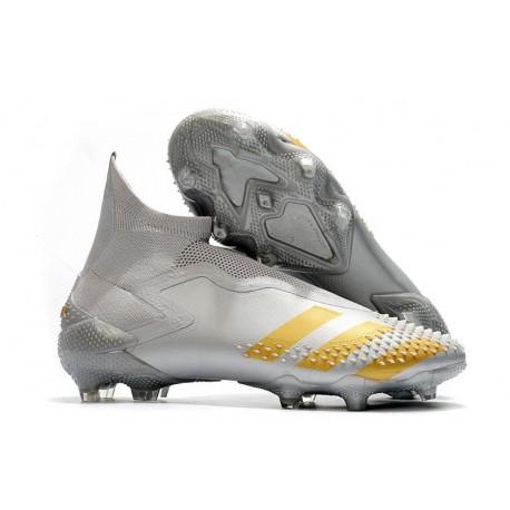 adidas Predator Mutator 20+ FG Soccer Cleat Grey Gold