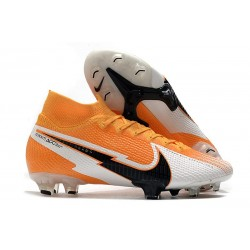 Nike Mercurial Superfly 7 Elite DF FG Daybreak - Laser Orange Black White