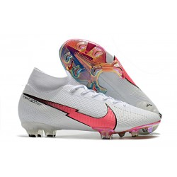 Nike Mercurial Superfly 7 Elite DF FG White Flash Crimson Blue
