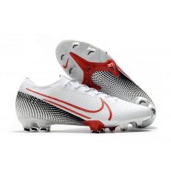 Nike Mercurial Vapor 13 Elite FG BootsLAB2 - White Laser Crimson Black