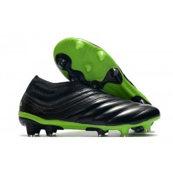 adidas Copa 20+ FG Leather FG Dark Motion - Core Black Signal Green