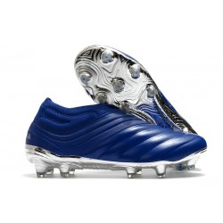 adidas Copa 20+ FG Leather Boots Blue Silver
