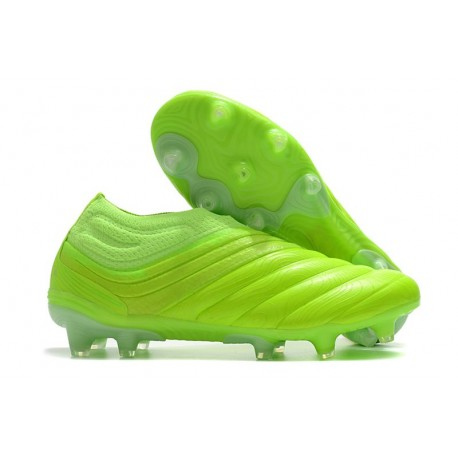 adidas Copa 20+ FG Leather Boots Signal Green White