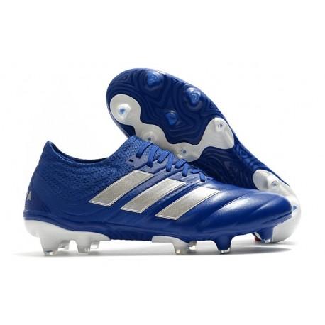 adidas Copa 20.1 FG Firm Ground Cleats Team Royal Blue Silver Metallic